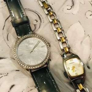 Ladies Watch Set - DKNY & Fossil
